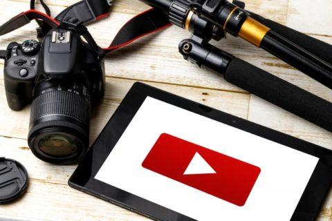 ネット動画の作成機材のイメージ画像